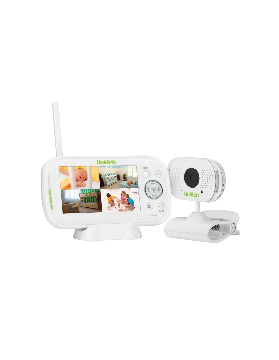 Uniden BW3101 4.3 Inch Digital Wireless Video Baby Monitor