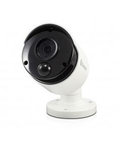 4K Super Resolution Motion Activated White Bullet Camera for Residential | InFront Technologies Australia