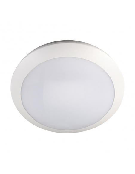 ENSA 16W LED Intelligent Oyster Light with Backup Battery (3000K) - LOL-A16-WSE