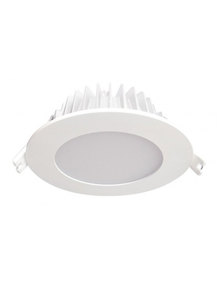 ENSA 12W Residential Fixed LED Dimmable Downlight (3000K) - LDL-BB12-FW