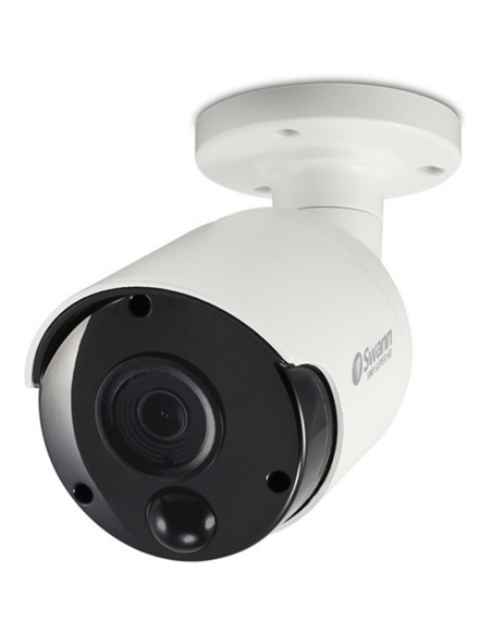 Swann NHD-885MSB 4K IP True Detect White Bullet Camera w Audio