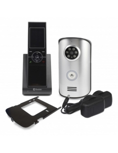 "Swann SWWHD-DP890C Wireless Intercom with Doorbell & 2.4"" Video Doorphone"