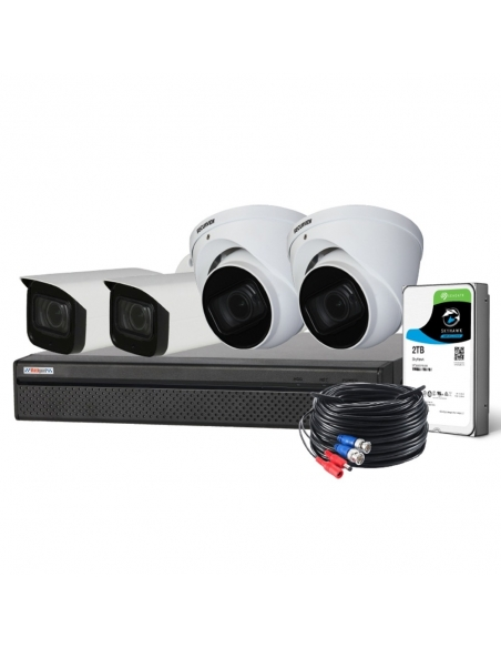 Watchguard Compact 8 Ch 8.0MP HDCVI Surveillance Kit - CVRKIT-C482M