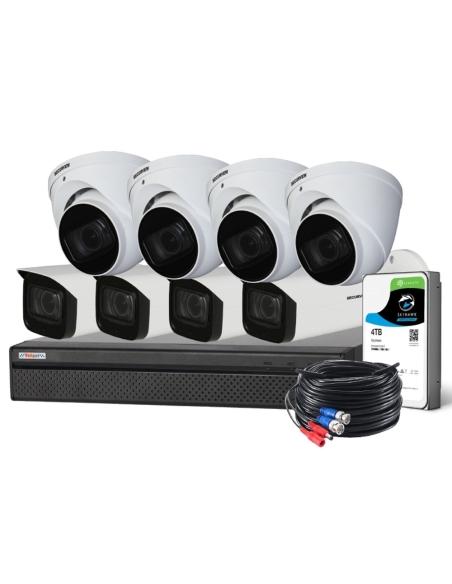 Watchguard Compact 8 Ch 8.0MP HDCVI Surveillance Kit - CVRKIT-C884M