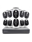 Swann 2MP 16Ch DVR-4580 inc 1TB HDD & 10 x 1080p Thermal Sensing Spot Light Cams