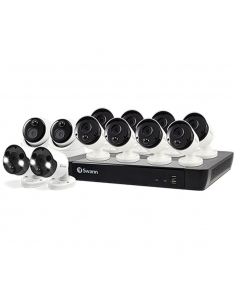 Swann Premium 4K CCTV Kit with 4Cams + 2xFlood Cams | InFront Tech
