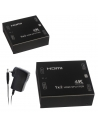 HDMI Spitter HD4K 1x2 Splitter Ultra HD Supports 1080p & 3840 x 2160 Resolution