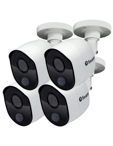 Swann 2MP 4-PACK SWPRO-1080MSB Camera...