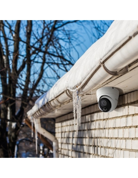 Example of Swann CCTV Camera on Eaves House   InFront Tech