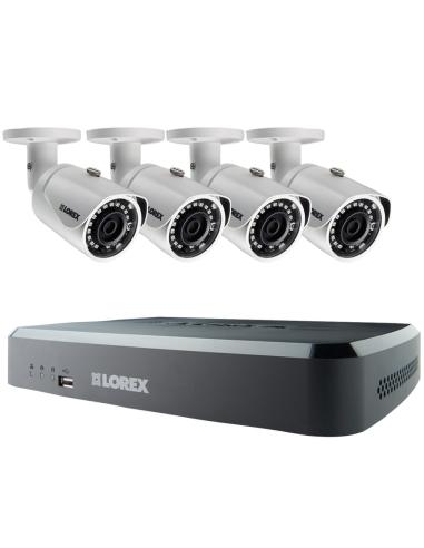 Lorex LNR110 3MP 8Ch NVR 4x3MP HD IP...