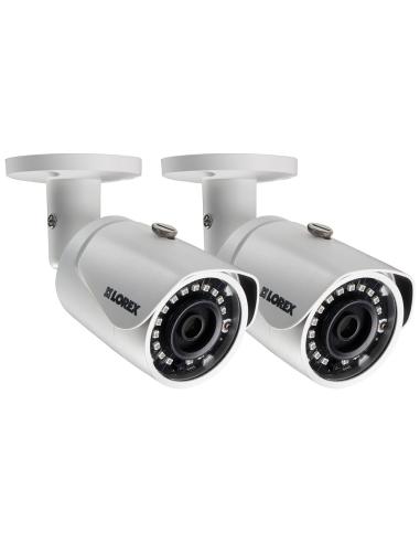 Lorex 3MP HD Bullet Security 2 Pack...