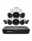 Swann SONVK-1686808 NVR16-8580 4K /2TB/ 8x NHD-887MSB 4K Bullet Cameras