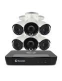 Swann 8MP SONVK-886806 4K 2TB Security Camera System 6x NHD-887MSB 8MP 4K Camera