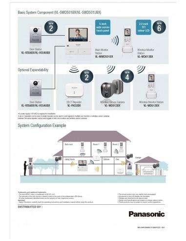 Futuro Intercom Wiring Diagram Great Engine Schematic Pacific System Panasonic Vl Swd501az Wireless Video Home Visitor Rh Infronttech Com Au Aiphone 71