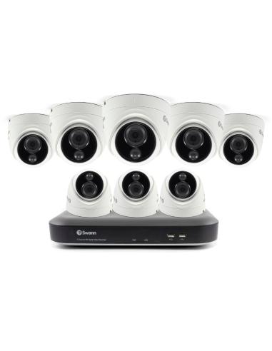 dvk-855808d, swann 4k bnc security system, swann security system, swann 4k camera, 4k security kit