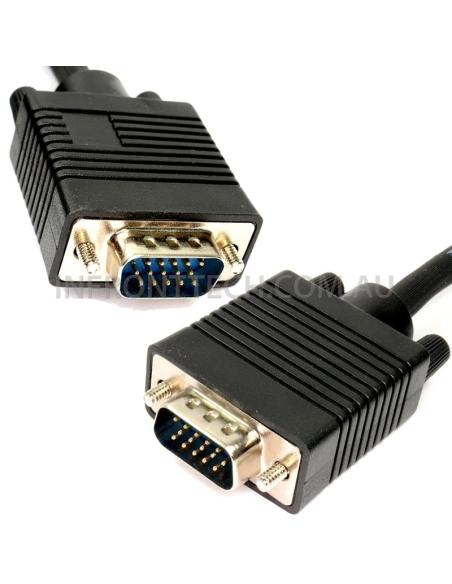 VGA 15Pin HD Male to Male Cable SVGA HQ - 5 Metre