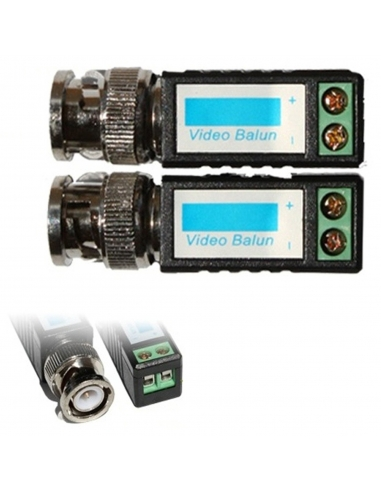 Video Balun Extend Cameras up to 600 metres