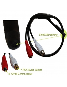 DVR Microphone to CCTV Security Recorder