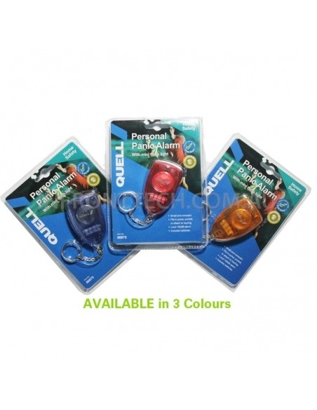 Quell Personal Panic Alarm Siren Available in 3 Colours