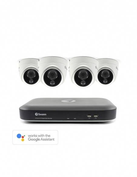 swann dvk 5580 series, 4k bnc security cameras cables and acc, 4k swann security, home cctv system, smart home security system
