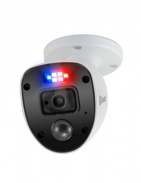 Swann 1080p Enforcer Cameras with 'Police-Style' Flashing Lights & Spotlights PRO-1080SL