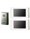 Futuro SD4 REC 2x Video Intercom WHITE Screens + 1x SURFACE Mount CZ4 Camera