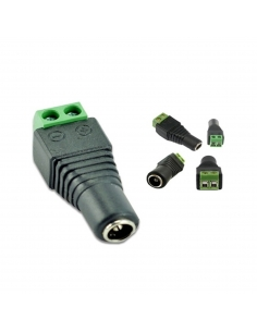 CCTV Female DC Socket with Screw Terminals