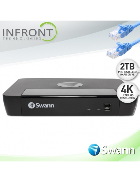 swnvr-88580, sonvr88580,nvr88580, swann nvr, swann security nvr recorder, swann 2tb hdd 8 channel, swann 4K