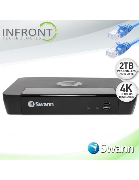 Swann 16 Channel 8680 series, swann home security recorder, swann cctv recorder, swann cctv IP recorder