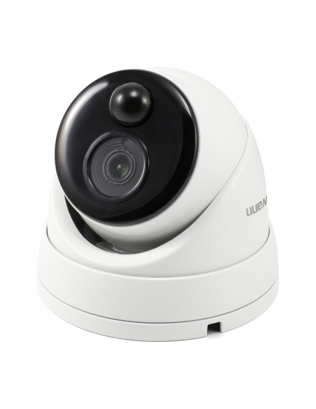 Swann 4K Ultra HD Thermal Sensing Face Recognition Dome IP Security Camera