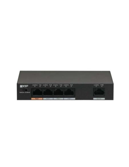VIP Vision 4-port Unmanaged Fast Hi-PoE Ethernet Switch - VSPOE-SWA4