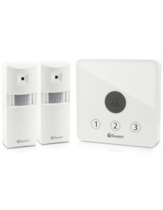 Swann SWADS-ALARMS Doorway Alert Kit - Wireless Connectivity & Motion Detection
