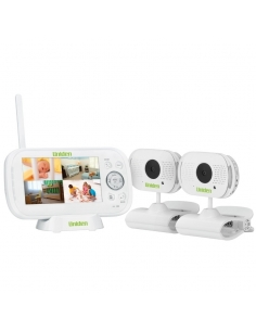 Uniden Wireless Digital Baby Monitor Twin Pack with Temp Display