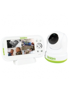 Uniden 4.3 Inch Digital Wireless Baby Monitor with Pan Tilt Zoom PTZ