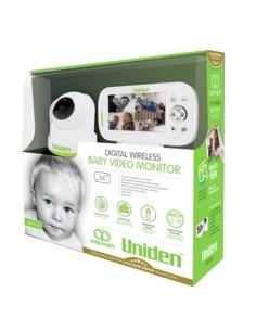 Uniden BW3451R PTZ Digital Wireless Baby Monitor Box Image