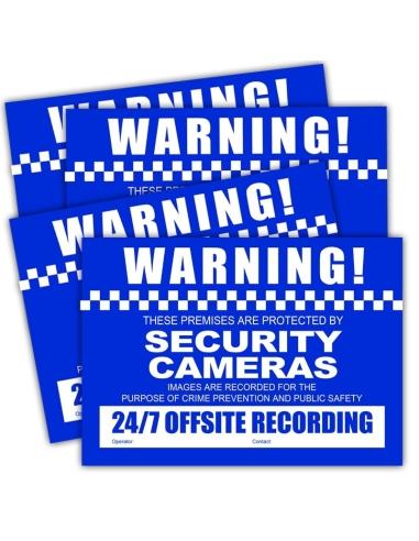 Watchguard VSCDSC CCTV Warning...