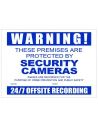 Watchguard CCTV Warning Sign Corflute A3 Size - VSCDCC