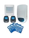 Watchguard Budget Wireless Home Alarm System - WGSENTINEL