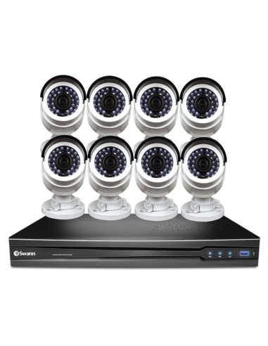Swann SWNVK-1670958B Professional 16CH CCTV Kit