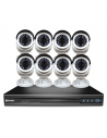 Swann SWNVK-1670958B Professional 16CH CCTV Kit with 8x NHD-835 HD Cameras POE
