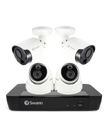 Swann 8MP SWNVK-885802B2D 4K 2TB 2x...