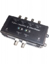 2 Video Signal Input to 4 Video Output Amplifier and Distributor