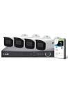 VIP Vision Pro Series 4 Camera 2.0MP IP Surveillance Kit (Fixed, 1TB)