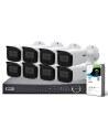 VIP Vision Pro Series 8 Camera 2.0MP IP Surveillance Kit (Fixed, 2TB)