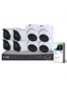 VIP Vision Pro Series 8 Camera 4.0MP IP Surveillance Kit (Fixed, 2TB)
