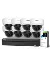 Watchguard Compact Series 8 Camera 4.0MP IP Surveillance Kit (Motorised, 2TB)