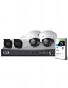 VIP Vision Pro Series 4 Camera 4.0MP IP Surveillance Kit (Motorised, 1TB)