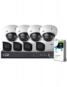 VIP Vision Pro Series 8 Camera 4.0MP IP Surveillance Kit (Motorised, 2TB)