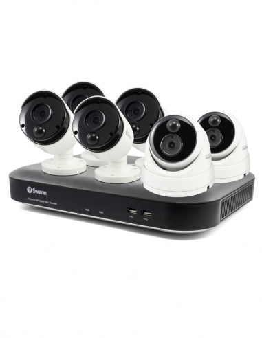 Swann 5MP SWDVK-849804B2D HD CCTV Kit...