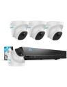 Reolink 8MP 4K 8CH 2TB AI Version PoE NVR CCTV Security Camera Kit RLK8-820D4
